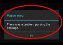 Parse error – There is a Problem Parsing the Package